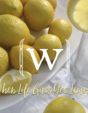 Benefits Of Lemon: When Life Gives You Lemons.